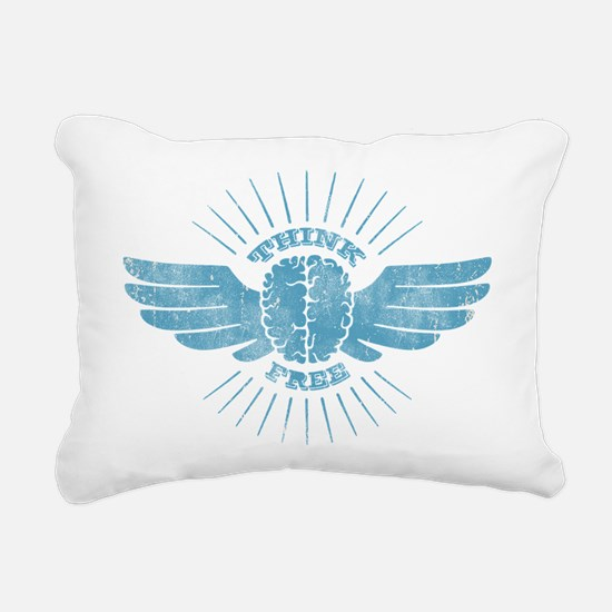 Freethinker Rectangular Canvas Pillow