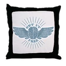 Freethinker Throw Pillow