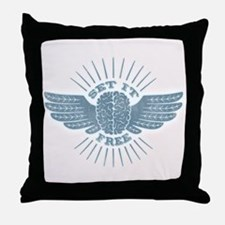 Freethinker Throw Pillow