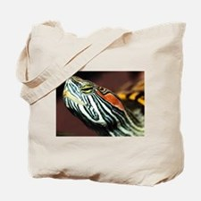 Red Eared Slider Close Up Tote Bag
