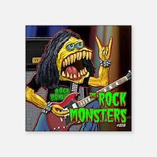 Guitar Monster Square Sticker