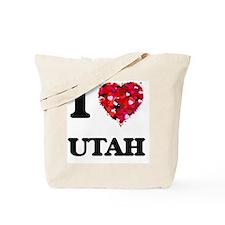 I love Utah Tote Bag
