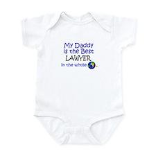 Best Lawyer In The World (Daddy) Infant Bodysuit
