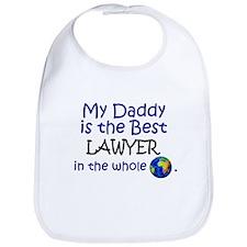 Best Lawyer In The World (Daddy) Bib