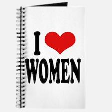 I Love Women Journal