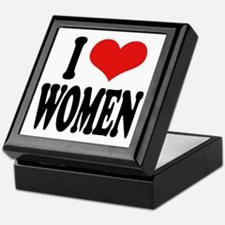 I Love Women Keepsake Box