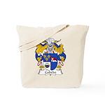 Cabedo Family Crest Tote Bag