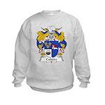 Cabedo Family Crest Kids Sweatshirt