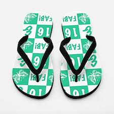 16th Birthday Fabulous Flip Flops