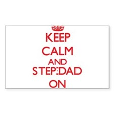 Keep Calm and Step-Dad ON Decal