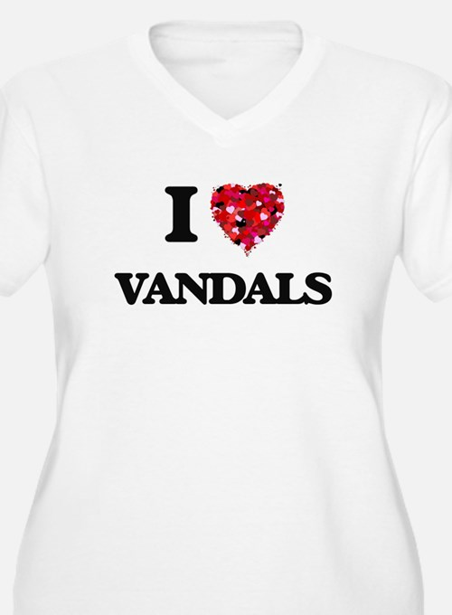 I love Vandals Plus Size T-Shirt