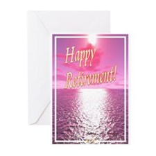 Retirement F2 Greeting Cards (pk Of 10)