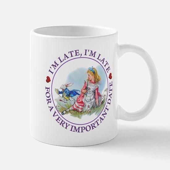 I'm Late , I'm Late, For a Very Importa Mug