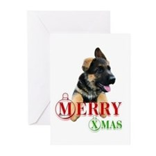 Cute Gsd Greeting Cards (Pk of 20)
