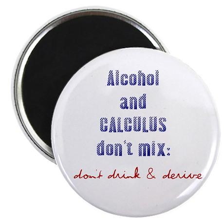 "Don't Drink & Derive 2.25"" Magnet (100 pack)"