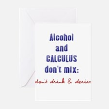 Don't Drink & Derive Greeting Cards (Pk of 10)