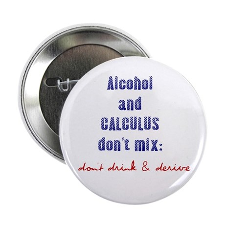"Don't Drink & Derive 2.25"" Button (100 pack)"