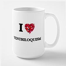 I love Ventriloquism Mugs