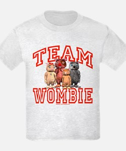 Kids Team Wombie T-Shirt Light Colored