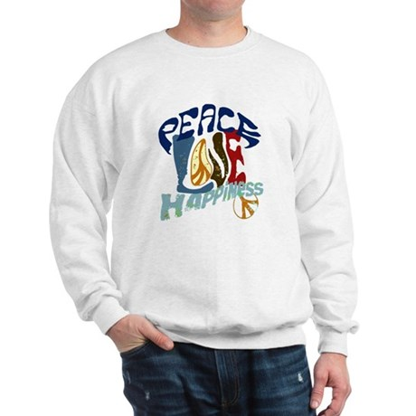 Peace Love and Happiness #P2 Sweatshirt