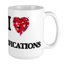 I love Verifications Mugs