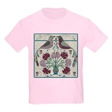 Harvest Moons Quilted Love Birds T-Shirt