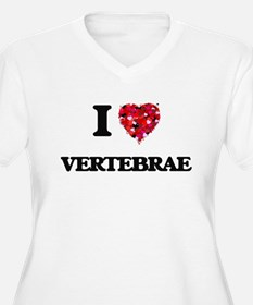 I love Vertebrae Plus Size T-Shirt
