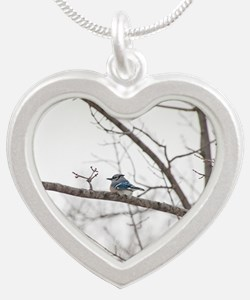 Jay Silver Heart Necklace