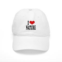 I Love Nature Baseball Cap