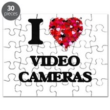 I love Video Cameras Puzzle