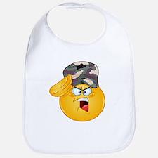 army emoji Bib
