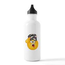 army emoji Water Bottle