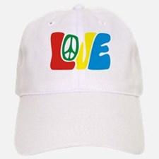 lovePeace Baseball Baseball Cap