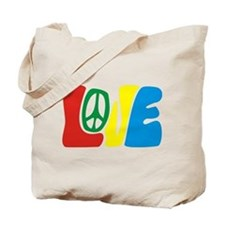 lovePeace Tote Bag