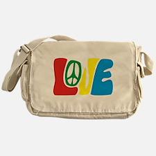 lovePeace Messenger Bag