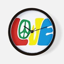 lovePeace Wall Clock