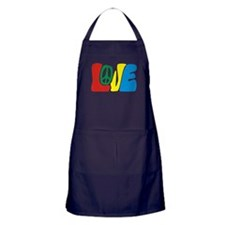 lovePeace Apron (dark)