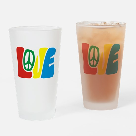 lovePeace Drinking Glass