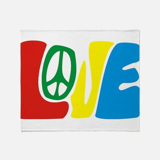 lovePeace Throw Blanket