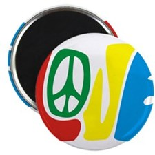 lovePeace Magnets