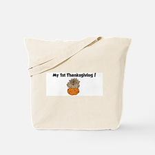 Cute 1st thanksgiving Tote Bag