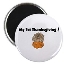 Cool My 1st turkey day Magnet