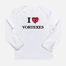 I love Vortexes Long Sleeve T-Shirt