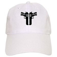 Double Guns Baseball Baseball Cap
