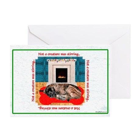 Not a Creature brindle Greeting Cards (Pk of 10)