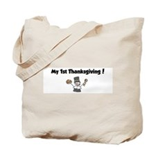 Unique My 1st turkey day Tote Bag