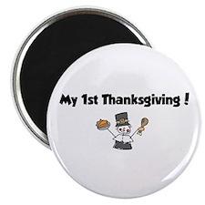 Cool 1st turkey day Magnet