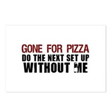 Pizza Postcards (Package of 8)