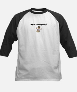 Funny Babies 1st thanksgiving Tee