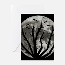 Halloween Moon Greeting Cards (Pk of 10)